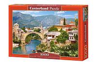"Пазлы ""Старинный город, Mostar, Bosnia and Herzegovina"", 1000 эл"