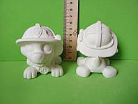 Гипсовые фигурки для раскрашивания 3Д фигурки. Щенячий патруль Маршал