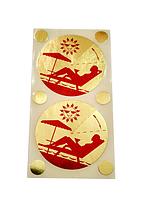 Стикини (Накладки на грудь для защиты в солярии), 10шт