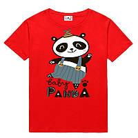 Футболка BABY PANDA детская красная