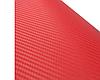 Карбоновая пленка 3D рулон 40х150 см КРАСНАЯ, фото 4
