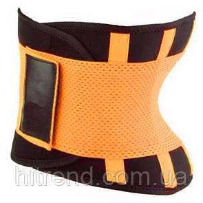 Пояс для похудения Hot Shapers Belt Power на липучке оранжевый Xxl R142055