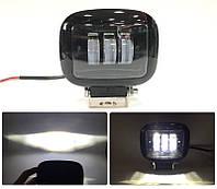 Дополнительные светодиодные противотуманные LED фары (1шт) 88В 30W ближнего света квадратная 120x122x60 LED-фары