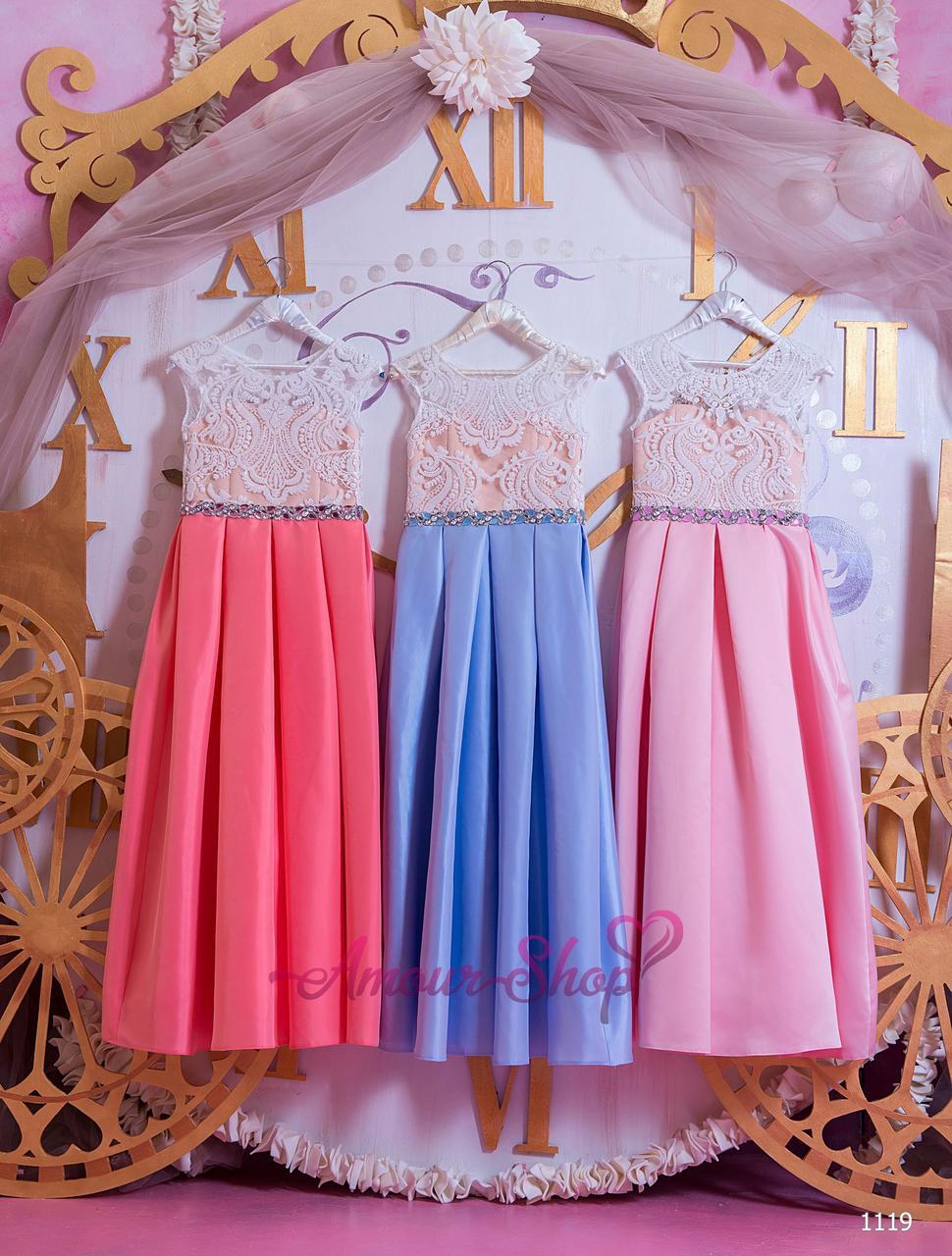Vip детское нарядное/ вечернее  платье 1119