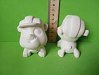 Гипсовые фигурки для раскрашивания 3Д фигурки. Щенячий патруль Крепыш
