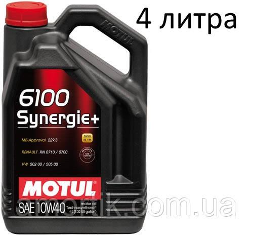 motul 6100 synergie+ 10w-40 для toyota 4runner