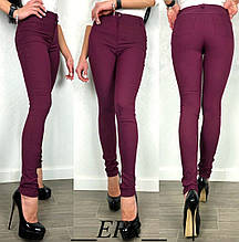 Красиві жіночі брюки стрейч-джинс (4расцв) ( 42-46р)