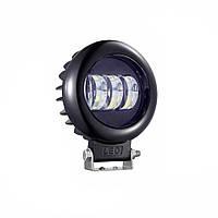 Дополнительные светодиодные противотуманные LED фары (1шт) 89В 30W ближнего света круглая 116x135(142)x60 LED-фары