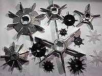 Крыльчатки обдува электродвигателей