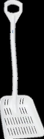 Лопата Vikan с перфорированным полотном, 1145 мм, фото 2
