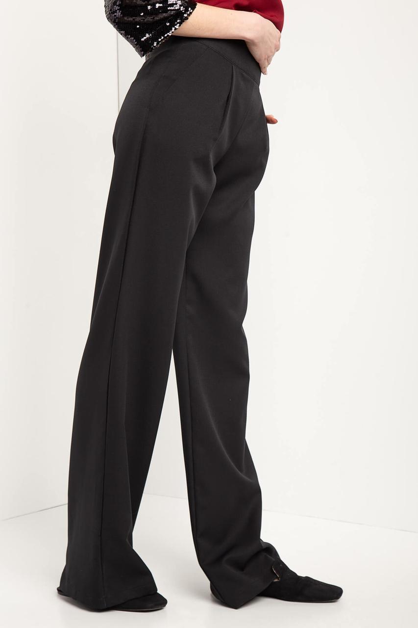 915baaee9087 Широкие черные брюки палаццо TWINKLE с завышенной талией - Bigl.ua