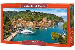 """Пазлы """"Портофино, Италия"""" , 4000 элементов  (пейзаж, природа, лес, архетектура, горы, горный пейзаж)"""