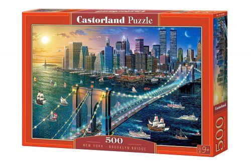 """Пазлы """"Бруклинский мост, Нью-Йорк"""", 500 элементов"""