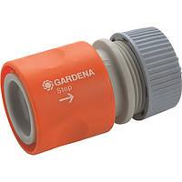 Коннектор Gardena с автостопом (02913)
