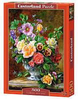 """Пазлы """"Букет цветов в вазе"""", 500 элементов"""