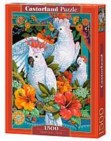 """Пазлы """"Тропическое трио"""", 1500 элементов"""