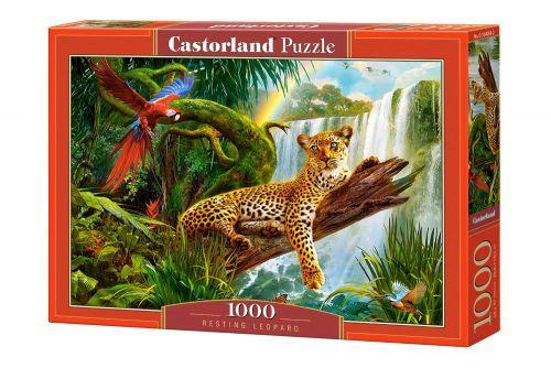 "Пазлы ""Отдыхающий леопард"", 1000 элементов"