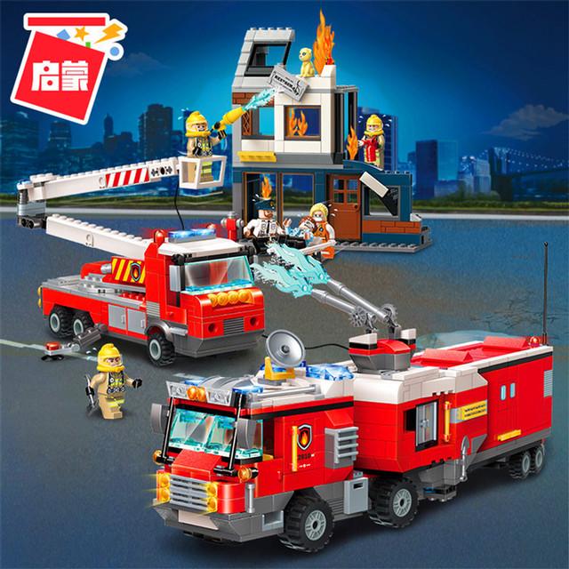 """Конструктор Brick 2810 """"Пожарные машины"""" купить"""