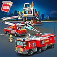 """Конструктор Brick 2810 """"Пожарные машины"""", 996 деталей, фото 2"""