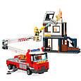 """Конструктор Brick 2810 """"Пожарные машины"""", 996 деталей, фото 3"""