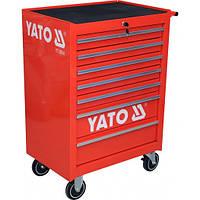 Инструментальная тележка на колёсах с выдвижными ящиками Yato YT-0914
