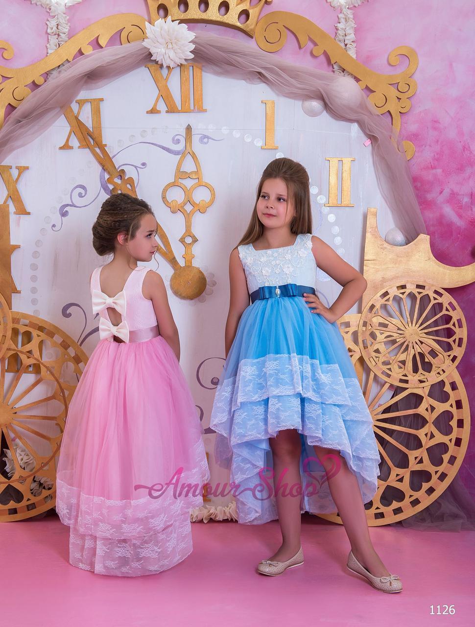 Vip детское нарядное/ вечернее  платье 1126