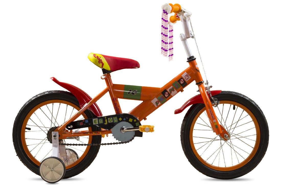 """Детский велосипед 16"""" Premier Enjoy Orange"""