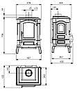 Печь La Nordica Giulietta X, фото 3