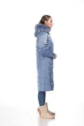 526859ecc96 Женский зимний Пуховик с овчиной или мехом енота пальто длинное больших  размеров овчина 42-56
