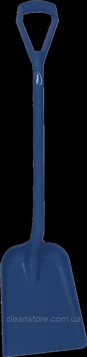 Стандартная лопата с  длинной ручкой и небольшим совком, 1230 мм
