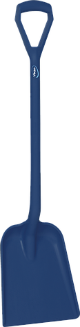 Стандартная лопата с  длинной ручкой и небольшим совком, 1230 мм, фото 2