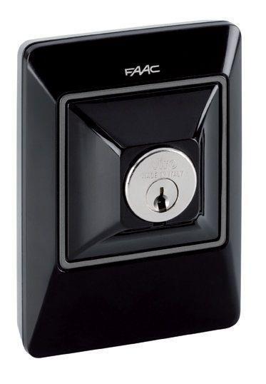 Ключ-выключатель Faac XK10 B (без цилиндра)