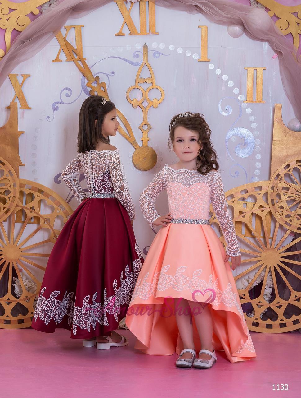 Vip детское нарядное/ вечернее  платье 1130
