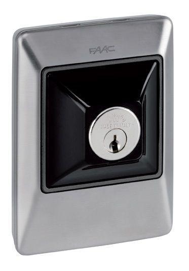 Ключ-выключатель Faac XK10 INOX (без цилиндра)