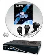 Спутниковое телевидение-антенны,ресиверы