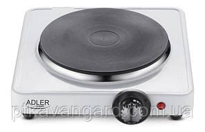 Плита электрическая одноконфорочная 1500Вт  Adler ad 6503