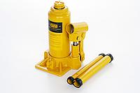 Домкрат гидравлический бутылочный 3т СИЛА - Инструмент в кейсе  (180-350мм) 27102