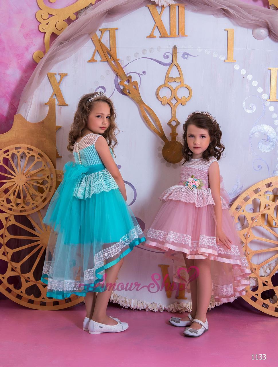 Детское вечернее выпускное платье (садик, 4 класс),  1133