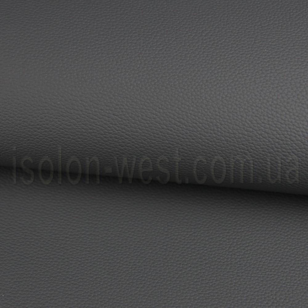 Автокожзам тёмно-серый, стойкий к ультрафиолету и истиранию, ширина 140см