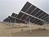 Солнечный трекер ZRT-10B на 6 кВт одноосный