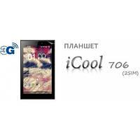 Планшет iCool AM706 Black MTК 8132C dual core 1.3GHz 3G