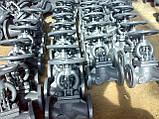 Вентиль сталевий 15с22нж Ду65, фото 3