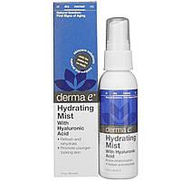 Спрей увлажняющий с гиалуроновой кислотой Derma E  60 мл