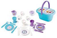 Корзинка Smoby Toys Frozen с набором для пикника 310578
