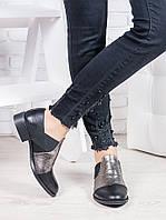 Туфли кожаные женские Фредерика