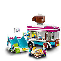 Конструктор для девочек «Горнолыжный курорт: Фургончик по продаже горячего шоколада (Серия Girls Club)» Lepin