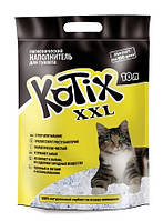 Наполнитель Силикагель для кошачьих туалетов Kotix 10 литров