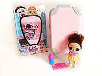 Кукла LOL с волосами (ЛОЛ) в чемодане, фото 1