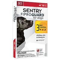 ФИПРОГАРД (FiproGuard) капли от блох, клещей и вшей для собак 20-40 кг, 2,68 мл(3шт/уп)