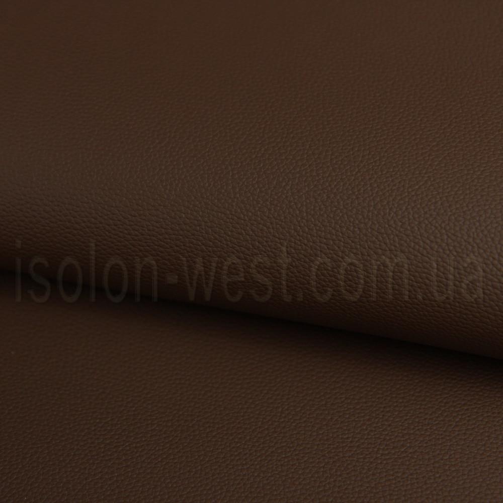 Автокожзам темно-коричневый, стойкий к ультрафиолету и истиранию, ширина 140см